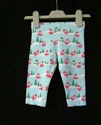 NEXT Baby Girls PEPPA PIG CHRISTMAS  Leggings age 9-12 mths