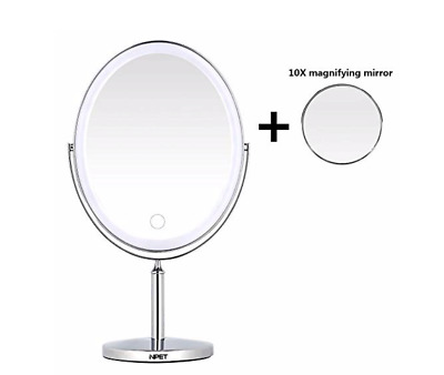 NPET LED double-sided makeup mirror M020 - Open Box