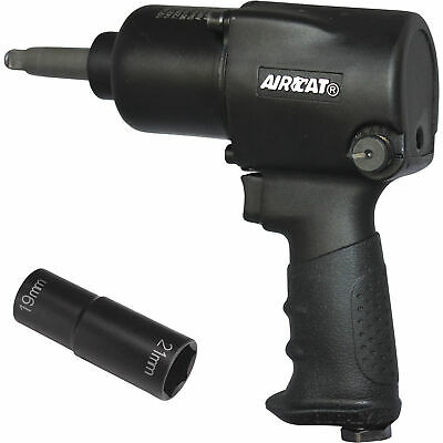 """1//2/"""" Aluminum Impact Wrench with 2/"""" Extended Anvil ACA1431-2 Brand New!"""