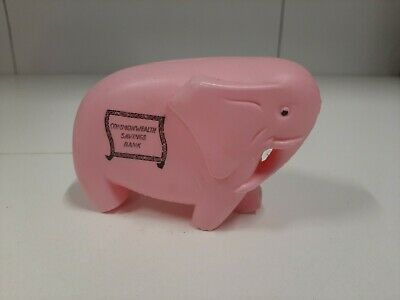 Vintage 1960's Commonwealth Bank Money Box