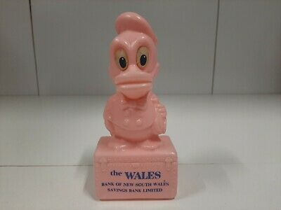 Vintage 1960's Money Box - The Wales Bank Of NSW Saving Bank