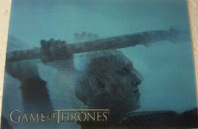 2019 RITTENHOUSE GAME OF THRONES INFLEXIONS Lenticular Motion Card L17 NIGHT KIN