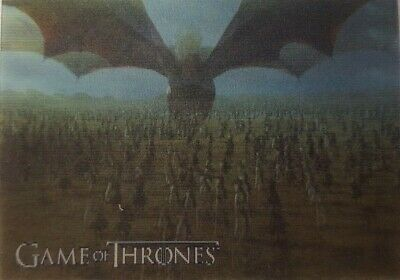2019 RITTENHOUSE GAME OF THRONES INFLEXIONS Lenticular Motion Card L13 DAENERY'S