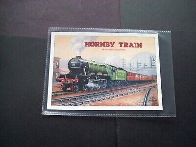 HORNBY BOOK OF TRAINS ADVERTISING POSTCARD