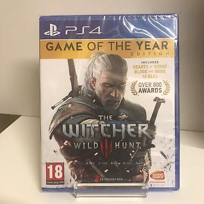 The Witcher 3 Game of the Year Edition PS4 Game GOTY - New & Sealed