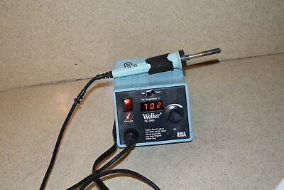 Weller Ec 2002-0 Power Unit Soldering Station W/ Soldering Iron (Xw)