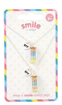 💖Girls Smiggle BFF 2 Necklace Set. Perfect Gift 🎁 Free Postage 🚚