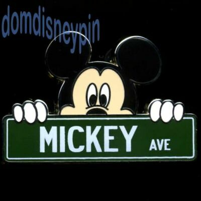 Disney Pin Disney Parks Street Signs Mystery Collection - MICKEY AVE!