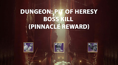 Destiny 2: Shadowkeep Pit of Heresy Dungeon Recovery [PS4]