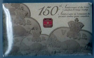 Canada - 2001 - 150th Anniv. of the 1st Canadian Postage - 3 cent Coin/Stamp Set