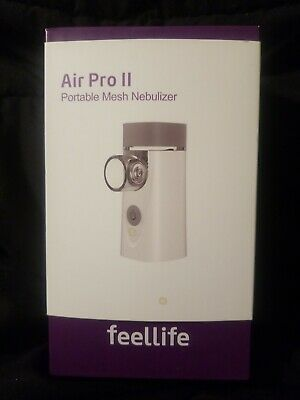 FeelLife Portable Mesh Ultrasonic Nebulizer,  Air Pro II