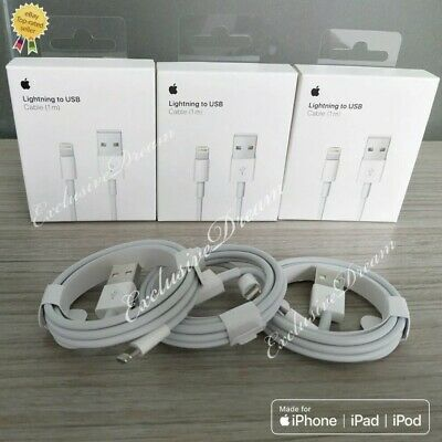 Chargeur Apple Cable Original 1M Usb Iphone 5/5C/5S/6/6S/7/8/X/Xr