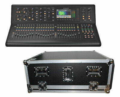 Midas M32 40-Channel Live Digital Mixer + ProX XS-MIDM32DHW Doghouse Flight Case