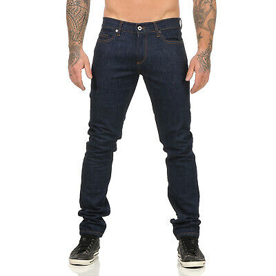 ROBERTO CAVALLI Herren Jeans Hose Slim Fit Stretch WOVEN DS001 Dark Blue