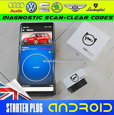 OBDeleven OBD2 Bluetooth Diagnostic Standard Scan Tool For Android VAG VW AUDI