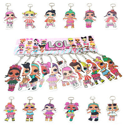 Lol Surprise L.o.l. Characters Girls Accessories Cute Doll Keyring Key Chain