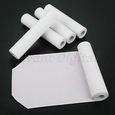 5 Rolls 210mm*20m Clinic Thermal Printing Paper For ECG EKG Machine 12-channel
