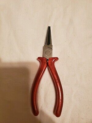 Beaders round nose mini jewelry making beading pliers very fine tips spring T006
