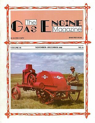 The Gas Engine Magazine NOVEMBER - DECEMBER 1980 42728
