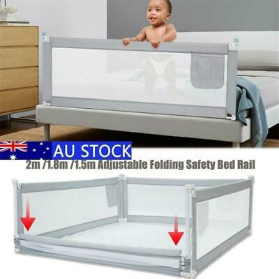 Safety Infant Baby Bed Rail/BedRail Cot Guard Child Toddler Kids Lift Adjustable