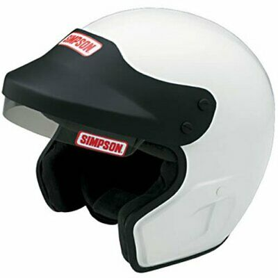 Simpson Helmets 6320031 Cruiser Helmet SA2015 Certified Large White