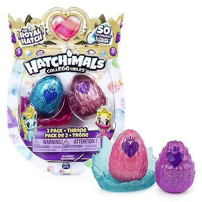 Hatchimals CollEGGtibles The Royal Hatch - 2 PACK + THRONE