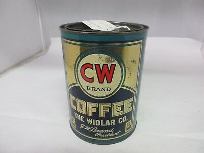 Vintage C W  Brand Coffee   Advertising Collectible  M-18