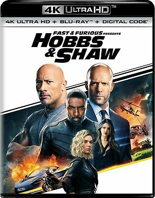 Slip Cover only for  Hobbs & Shaw (4K UHD) / No movie disc included.