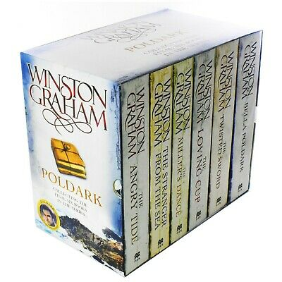 Poldark Series 3 & 4 - 6 Books Young Adult Paperback Box Set By Winston Graham