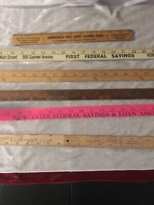 "123 Single-Lots Old Yardsticks 48/"" 39/"" 36/"" Inch /& Meters /'53-/'70s Select Yours"