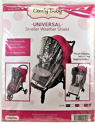 Comfy Baby Universal Multi Purpose Weather Stroller Shield Protector Pink