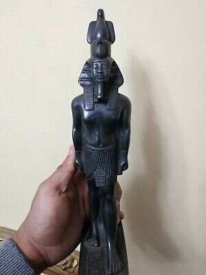 Antique Statue Rare Ancient Egyptian Pharaonic King Ramses  bc