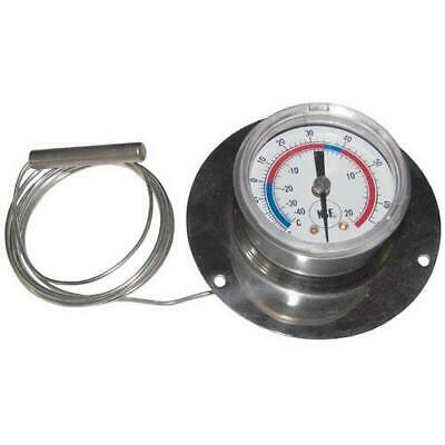 Commercial - -40° - 65°F Rear Flange Refrigerator Thermometer