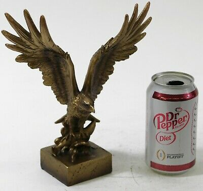 Freedom Eagle Sculpture Cold Cast Bronze Sculpture Superb Quality Work Statue