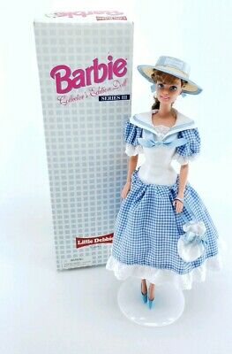 Little Debbie Snacks Barbie Collectors Edition Doll Series Vintage 1997 Gingham
