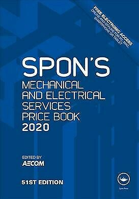 Spon's Mechanical and Electrical Services Price Book 2020, Hardcover by Aecom...