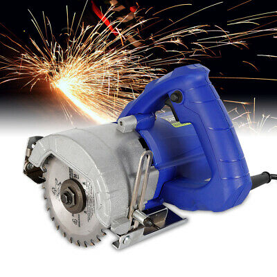 220V High Power Electric Metal Wood Stone Tile Saw 45° Cutting Grooving Machine