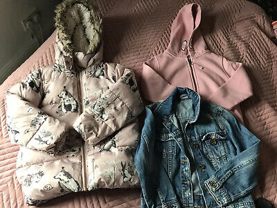 5-6 Years Girls Bundle Clothes, Next, Christmas Clothes New River Island Jeans