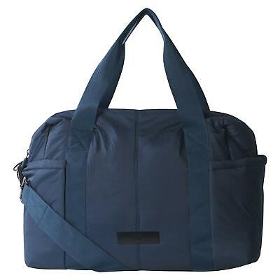 adidas X STELLA MCCARTNEY WOMEN'S YOGA SHIPSHAPE BAG BLUE GYM STRAP DUFFLE SPORT