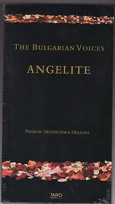 The Bulgarian Voices - Angelite - Passion Mysticism & Delight - 2 Cd's Neu!