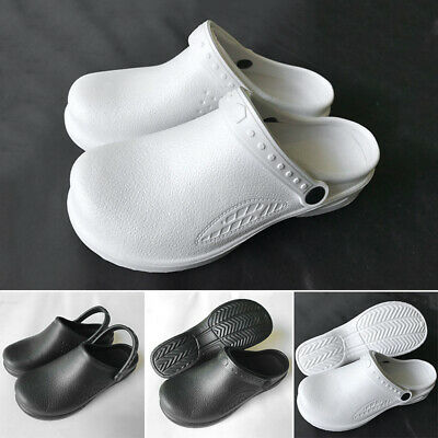 Non-Slip Nursing Chef Shoes Oil Water Resistant Safety Working Flats For Kitchen