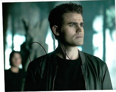 Paul Wesley Signed Vampire Diaries Photo Uacc Reg 242 (1)