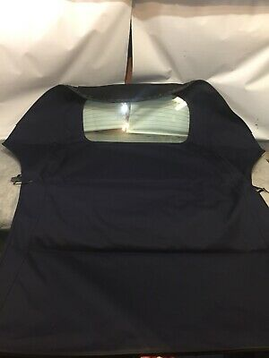 Vw Beetle Convertible Mohair Power Hood With Glass Rear  Window (Manual Roof)