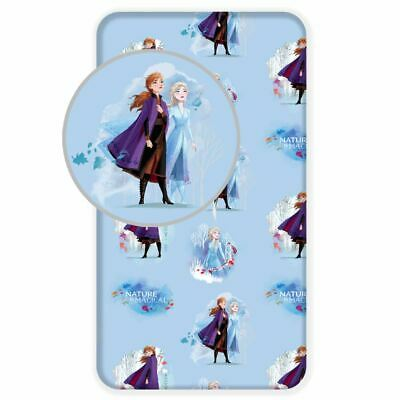 Disney Frozen 2 Single Fitted Sheet Official Bedroom Girls