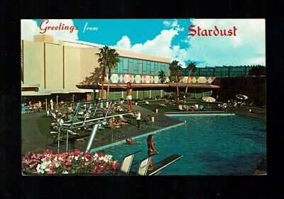 """Las Vegas,NV Nevada, Greetings from the STARDUST HOTEL """"covers 49 acres"""""""