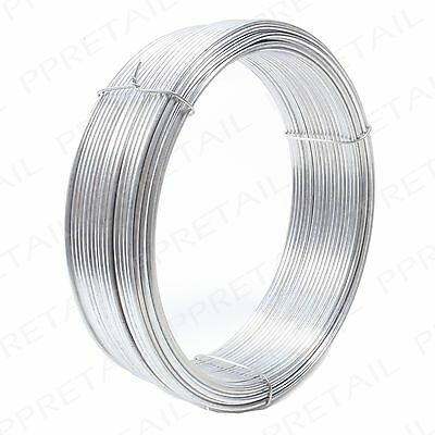 1.6mm EXTRA THICK GALVANISED 30m Picture/Mirror Frame Wire Hanging Cord/Cable