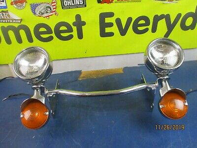 Cre Spot Lights, Turn Signals, & Bar Harley Davidson Flt Touring 1995-2005