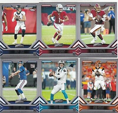 2019 Panini Playbook Football Base Rookies 101-200 Complete Your Set