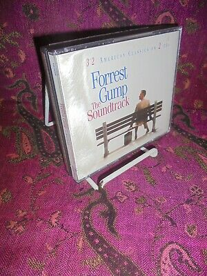 2 CDs-1994-FORREST GUMP-THE SOUNDTRACK-CLASSIC ROCK,SOUL,COUNTRY