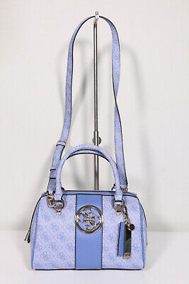 Guess Bluebelle Top Handle Bag Blue in blu | fashionette